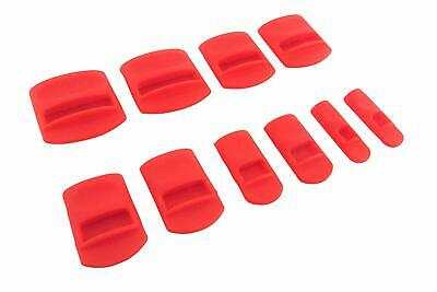 "Taytools 10 Piece Soft Silicone Chisel Edge Guard Set for Chisels 1/8"" to 1-1/4"""