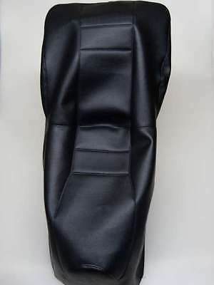 Motorcycle seat cover - Honda CN250 Helix Black