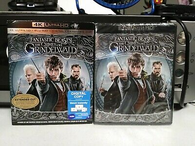 Fantastic Beasts The Crimes of Grindelwald (4K Ultra HD + Blu Ray + Digital)