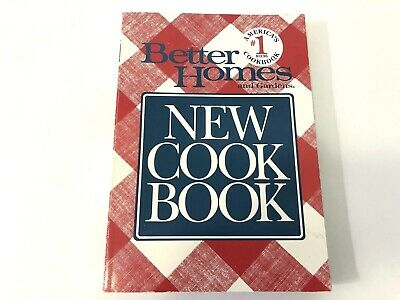Better Homes Gardens New Cookbook 1989 Second Trade Paper Edition Paperback Book