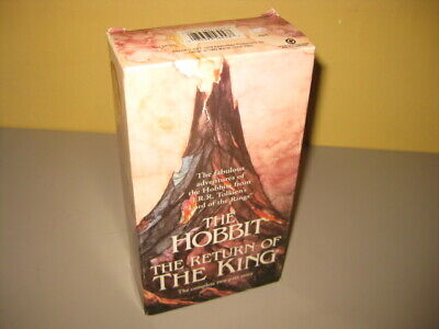 THE HOBBIT & The RETURN OF The KING Rankin Bass VHS Movies 1 NEW 2 Tape Set