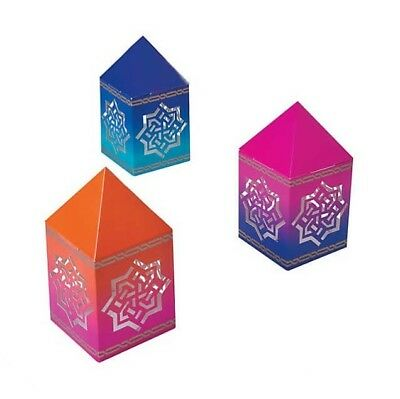 6 Arabian Nights Lantern Centerpieces Colorful Table Decorations Birthday Party