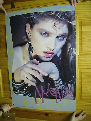 Madonna Poster Face Shot Early 80's
