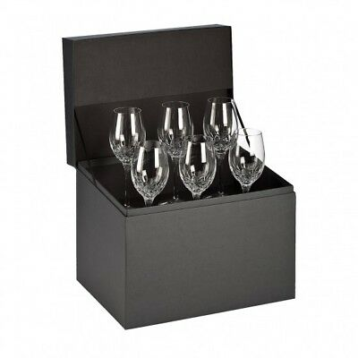 "Waterford Lismore Essence White Wine 10"" Set of 6"