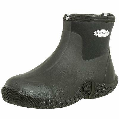Muck Boot Black Ankle High Unisex Adult Waterproof Jobber Rubber Boot