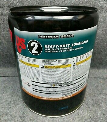LPS 00205 Multipurpose Lubricant, 5 Gal., Pail, Brown - NEW SEALED