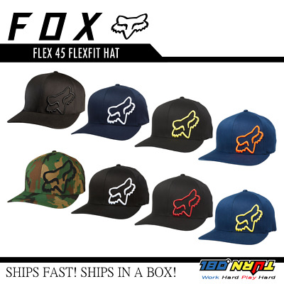 half off 98295 ab026 FOX FLEX 45 FLEXFIT HAT  58379 Legacy Sport Medium Profile Cap Men s  Heritage