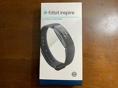 Brand New & Sealed Fitbit Inspire Fitness Tracker - Small & Large - Black