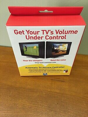 Audiovox VR1 Automatic TV Volume Controller Stop Loud Commercials New Sealed