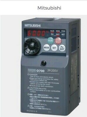 FR-D740-080-NA Mitsubishi Inverter, Variable Frequency Drive.Made In Japan