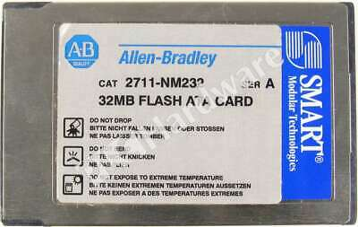 Allen Bradley 2711-NM232 /A 32 MB Flash ATA Memory Card