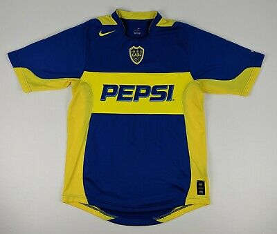 6b277eaa2 2004-2005 - CABJ Boca Juniors - Nike Football Jersey - Soccer Shirt - Men s