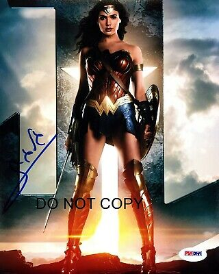 Wonder Woman Gal Gadot Signed Autographed A4 Photo Print Poster Memorabilia 1