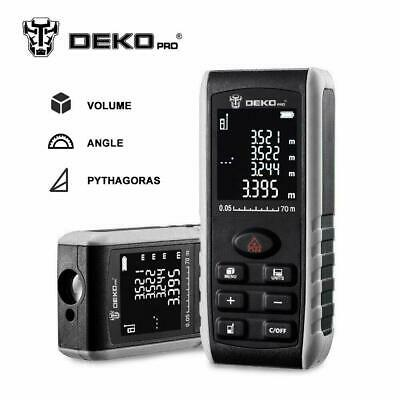 DEKO 229ft electronic measuring tool laser distance measuring device