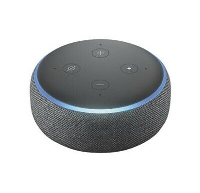 Amazon Echo Dot (3rd Gen) Smart Speaker With Alexa Black UK STOCK!! UK PLUG!!