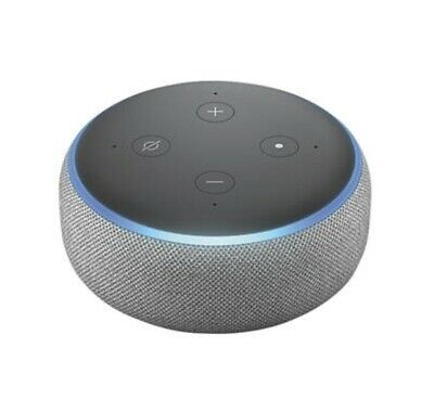 Amazon Echo Dot 3rd Generation Wireless Smart Speaker with Alexa - Heather Grey