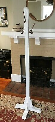Antique Arts & Crafts Mission Style Free Standing Coat Rack