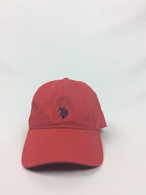 5df06b68f US POLO ASSOCIATION Assn Horse Clip Buckle Relaxed Slouch Hat Cap ...