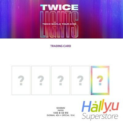Twice - Twicelight World Tour Official MD - Trading Card Set.