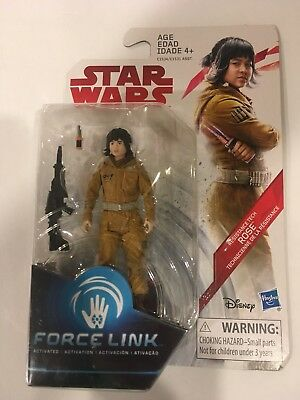 Star Wars The Last Jedi - Rose - Resistance Tech - New Force Link  3.75 Inch