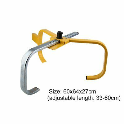 Car Wheel Heavy Duty Steel Clamp Adjustable Safety Lock For Truck Trailer