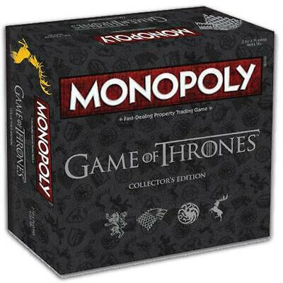 Game of Thrones Monopoly Collector's Edition :: Up to 6 players :: Hasbro