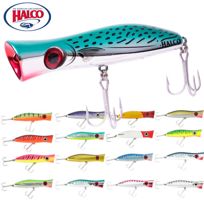 Halco Ultimate Topwater Lure Roosta Popper 105
