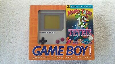 Nintendo Game Boy - Dmg-001 Mario & Yoshi + Tetris Limited Edition (Boxed)
