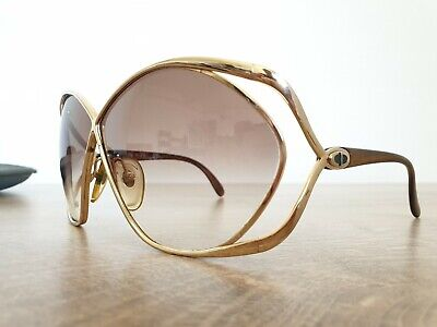 376e107906c54 VINTAGE CHRISTIAN DIOR Sunglasses - Model 2842 41 58[]17 - Made In ...
