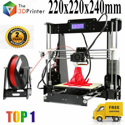 Anet A8 3D Stampante DIY Printer 220*220*240mm 1.75mm Kit ABS/PLA/wood/PVA/PP