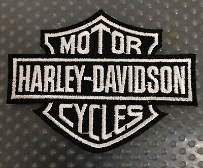 Harley Davidson motorcycles iron patches badge embroidered Black logo Harley