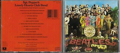 Cd 13 Titres The Beatles Sgt. Pepper's Lonely Hearts Club Band De 1987 Usa