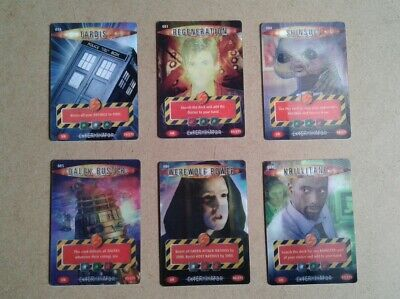 ultra rare doctor who bit cards