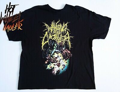 42ff59060 Vintage WAKING THE CADAVER Perverse Recollections Of A Neceomangler T Shirt  2XL