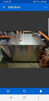 Pop up shop - Commercial 2x Sink with tap and coffee cart and storage bench