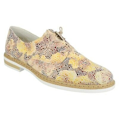 Flat Funky Rieker M3024 Satin Lace Shoes 32 Zip Casual Up Trainers zVSMpGqU