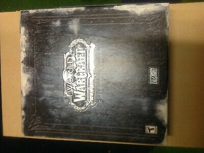 World of Warcraft: Wrath of the Lich king collectors edition no cards