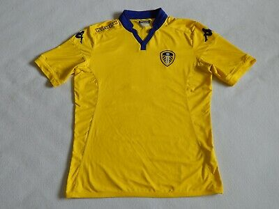 Leeds United 2015-16 Football Kappa Kombat Away Shirt Jersey Mowatt 10 ,Mens L