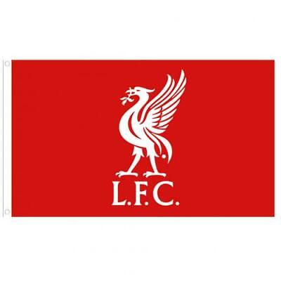 Liverpool FC Official Large Flag  (5ft x 3ft) Present Gift With Metal Eyelets