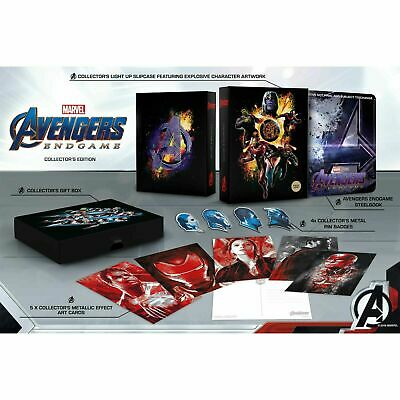 Avengers :Endgame 4K Ultra HD Exclusive Collector's Edition Steelbook Set