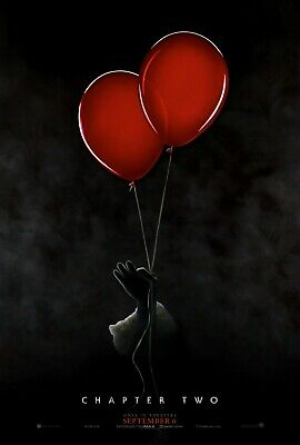 It Chapter Two 2 Original D/S  Movie Poster 27x40 NEW 2019 Stephen King