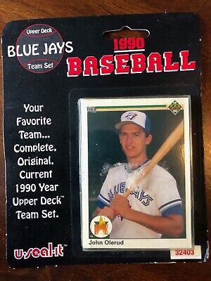 1990 Upper Deck Baseball Toronto Blue Jays Team set in Factory Sealed Package