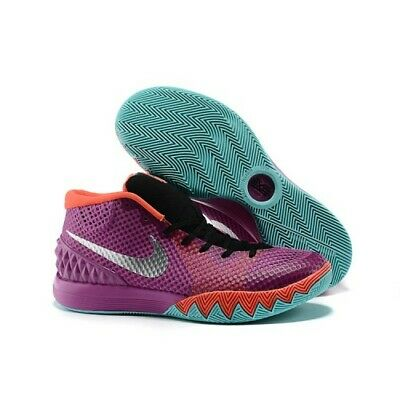 "Nike Kyrie 1 ""Easter"" Mdm Berry/Mtlc Silver [705277-508] Us Men Sz 13.5"