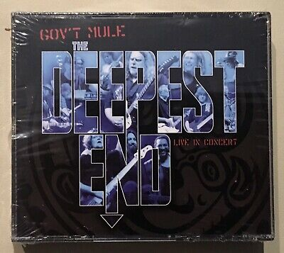 GOV'T MULE The Deepest End Live in Concert 2x CD + DVD ## BRAND NEW SEALED ##