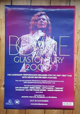 David Bowie Glastonbury 2000 Official Poster