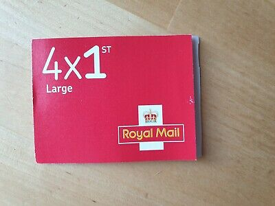 ROYAL MAIL STAMPS FIRST CLASS  4 x 1st Class Large Letter Stamps