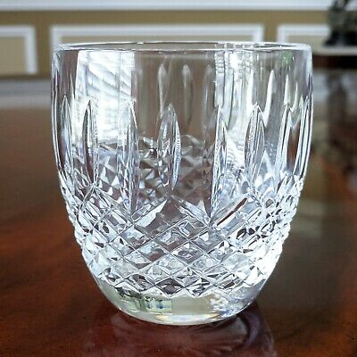 """Waterford Crystal BALLYBAY Old Fashioned MINT 9 oz Rocks Tumbler Glass 3 3/8"""""""