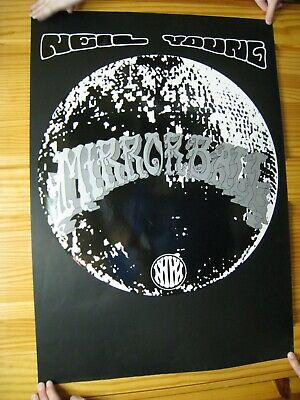 Neil Young Poster Mirror Ball