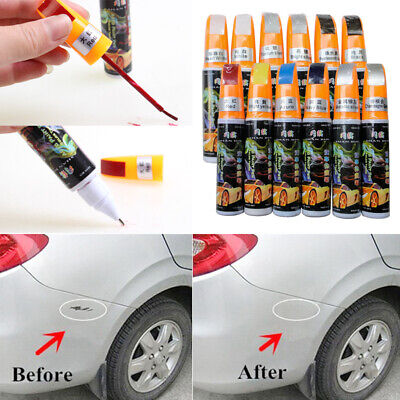 Fashion Auto Car Coat Paint Pen Touch Up Scratch Clear Repair Remover Too Colors