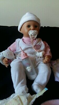 Zapf Creations Interactive Baby Annabell Doll's Plus Extras